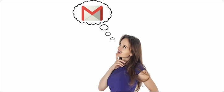 Excluir Gmail sem ter certeza