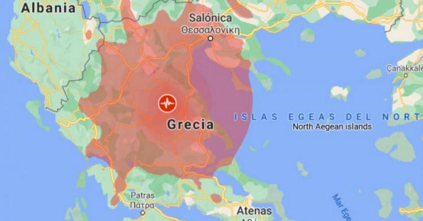 TERREMOTO EN GRECIA: Sismo de Magnitud 6.3 (Hoy Miércoles 3 Marzo 2021) Temblor Epicentro - Larisa - USGS - www.earthquake.usgs.gov