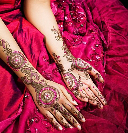 Latest Kids Mehndi Designs