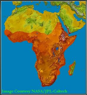 Penyebaran Wilayah African Helmeted Turtle