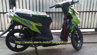 Cara pasang alarm motor pada Suzuki Nex Karbu