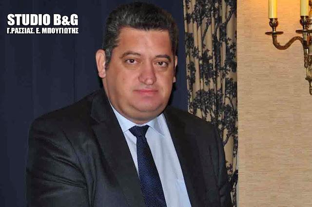 Ο Ναυπλιώτης δικηγόρος Χρήστος Αντωνόπουλος νέος Διοικητής στο Γενικό Λαϊκό Νοσοκομείο