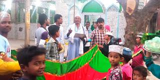 धूमधाम से मनाया गया हजरत मखदूम अली शाह का उर्स | #NayaSaberaNetwork