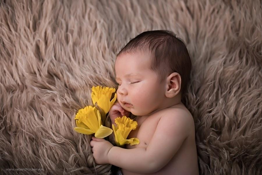 Fotografia noworodkowa w wersji minimalistycznej - mało dodatków, dużo emocji - Zobacz więcej