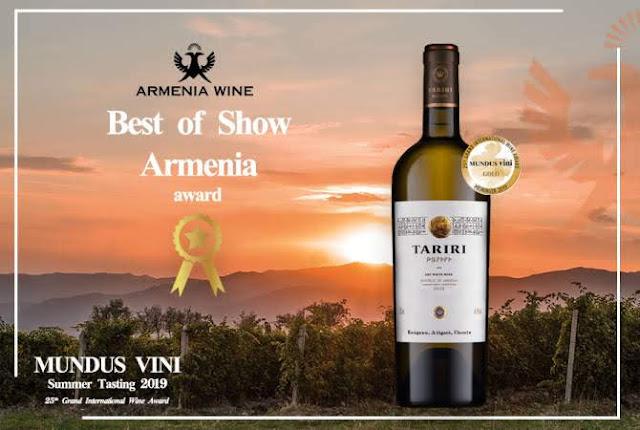 Armenia Wine cognac gana competencia internacional