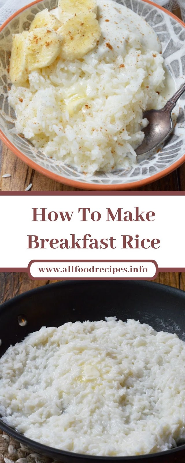 How To Make Breakfast Rice