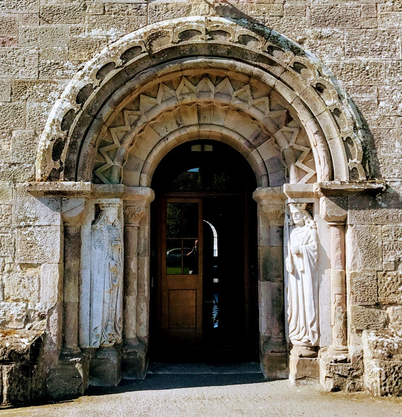 The Figures Of King Henry II And Queen Eleanor At The Main Door Into Glenstal Castle (Photograph Patrick Comerford 2017) & Abbey Doors Leicester u0026 Picture 1 pezcame.com