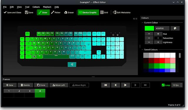 Polychromatic Effect Editor