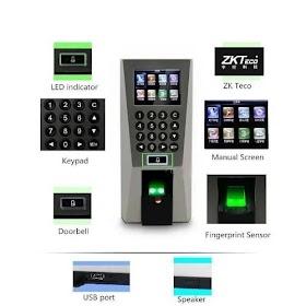 Hệ thông kiểm soát ra vào vân tay - Access Control System