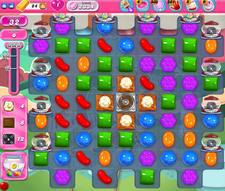 Candy Crush Saga level 2334