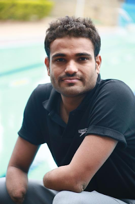 Suyash Jadhav will kick off his Paralympic campaign with his 50-meter freestyle heats