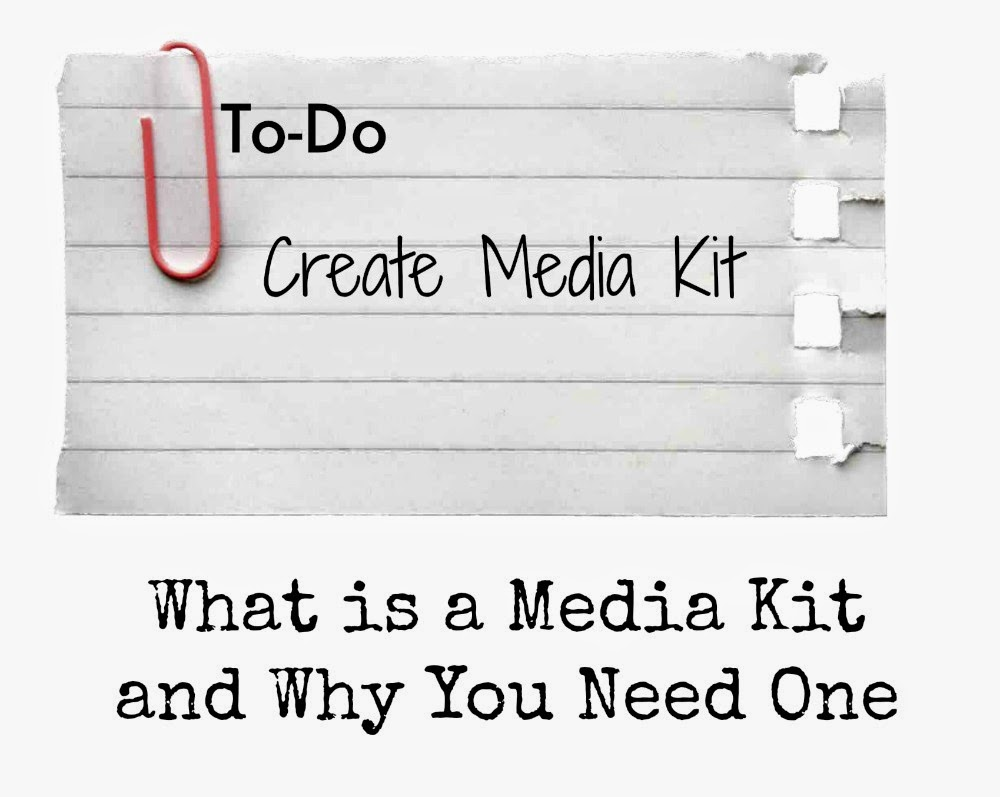 Are you a Blogger? Do you want to work with brands? Then you need a Media Kit.