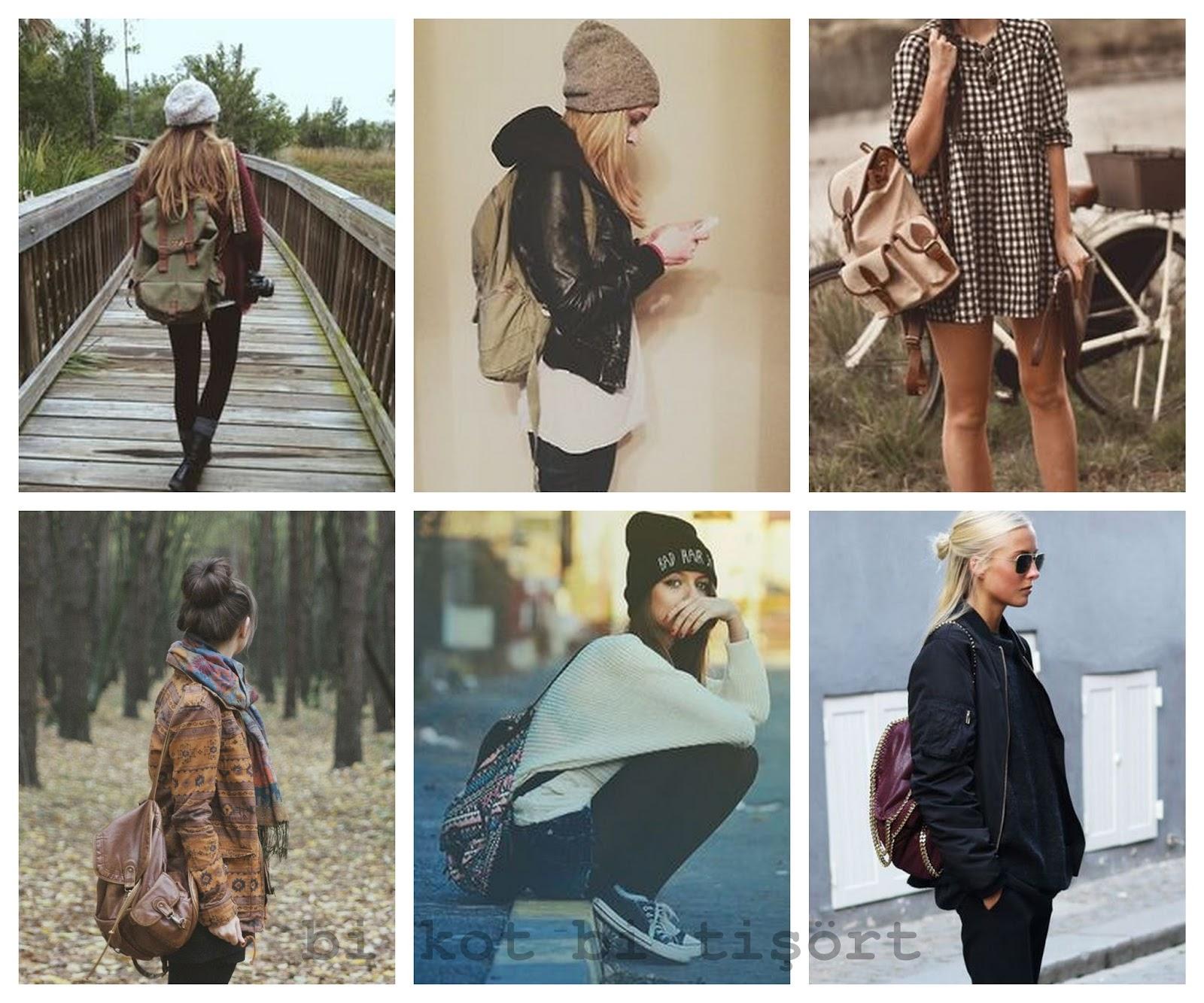 9bd372db6aa4e Sonbahar renklerine ve kombinlerine o kadar yakışıyor ki sırt çantası,  başka bi şey kullanmayı düşünemiyorum bile. Yani ne bileyim 7 bin euroluk  bi Givenchy ...