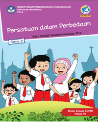Buku tema 2 Siswa Kelas 6 k13 2018