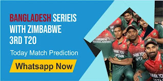 Zim vs Ban 100% Sure Match Prediction T20 Zimbabwe vs Bangladesh 3rd Match Bangladesh Series With Zimbabwe