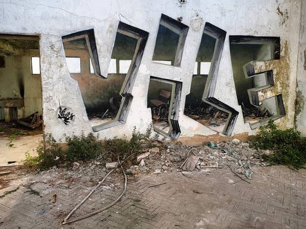 graffiti epic karya seniman vile