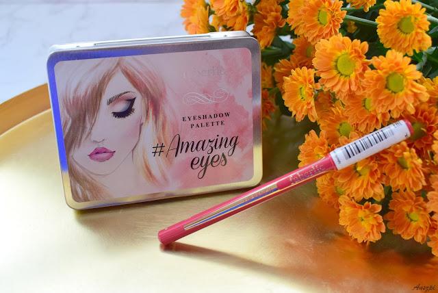 Paleta cieni #Amazingeyes i konturówka Ultramodern Faberlic