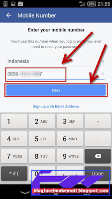 cara membuat facebook di hp android