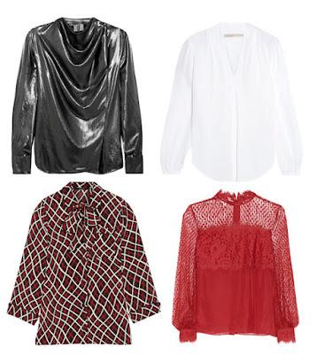 Как выбрать блузку для типа фигуры груша