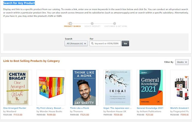 How to add Amazon Affiliate Products on your Website?
