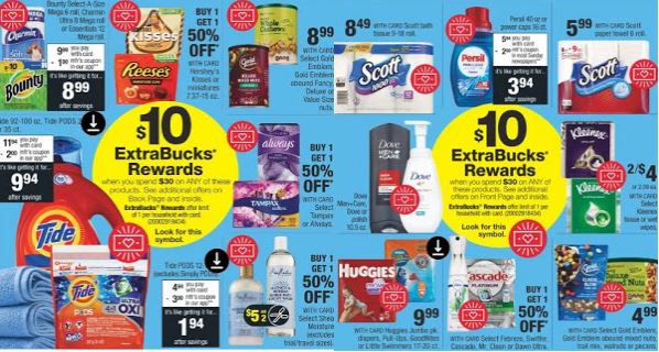 Bounty, Tide Pods & Persil CVS PG Deal 714-720