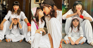 Fiza Ali Playing with her daughter | Beautiful Pictures