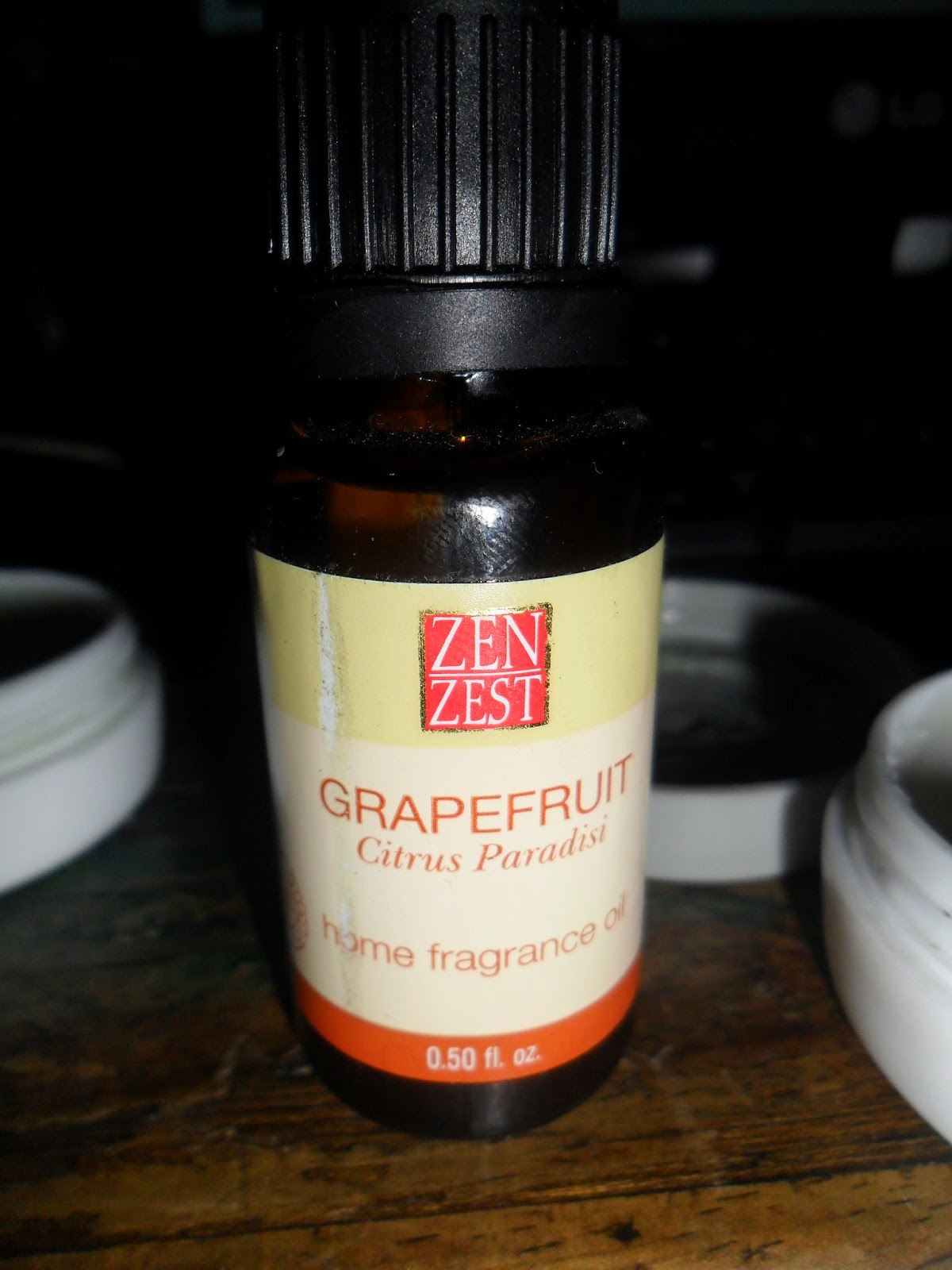 zen zest grape fruit essential oil