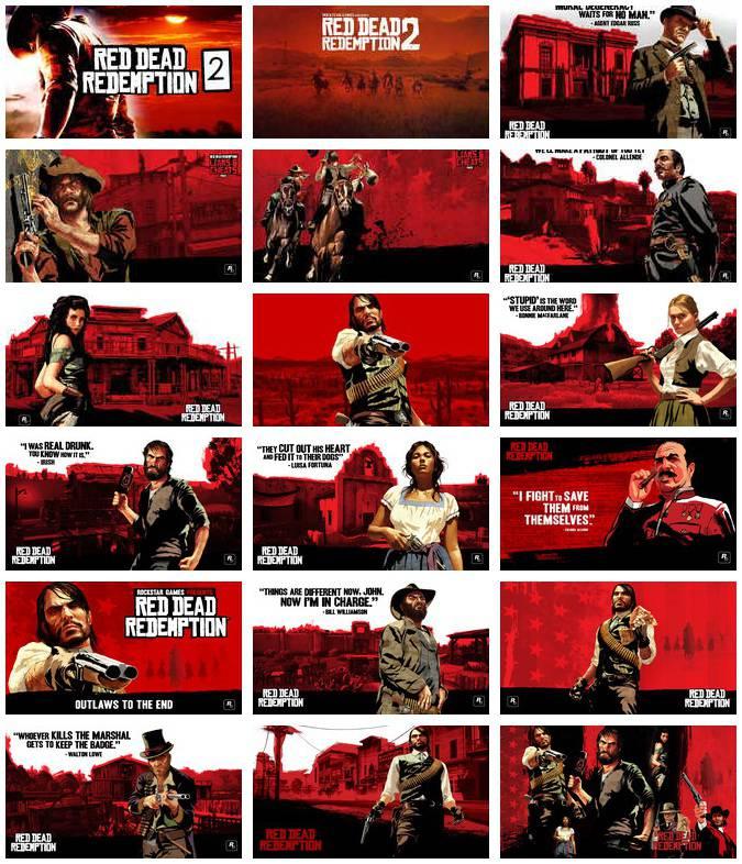Red Dead Redemption Wallpaper Hd: Red Dead Redemption 2 Theme Indir