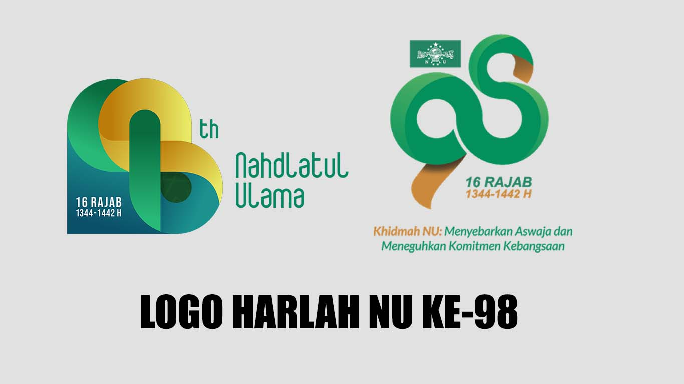 Logo Harlah NU ke-98 versi Hijriah