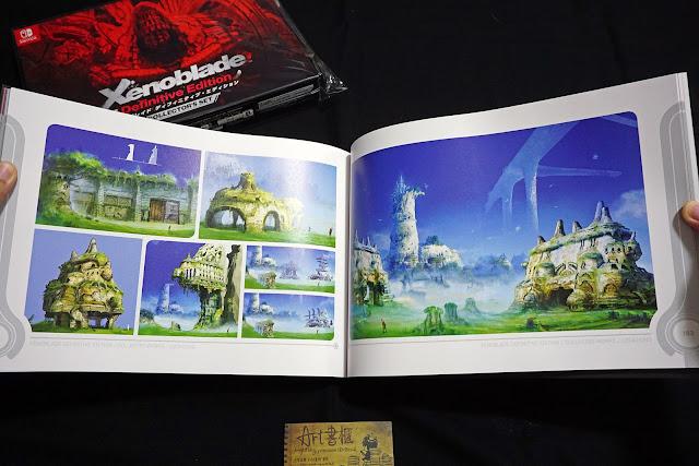 DSC01951 - 異域神劍 異度神劍 終極版 遊戲限定版畫集  ゼノブレイド ディフィニティブ・エディション / Xenoblade Definitive Edition / Xenoblade Chronicles: Definitive Edition