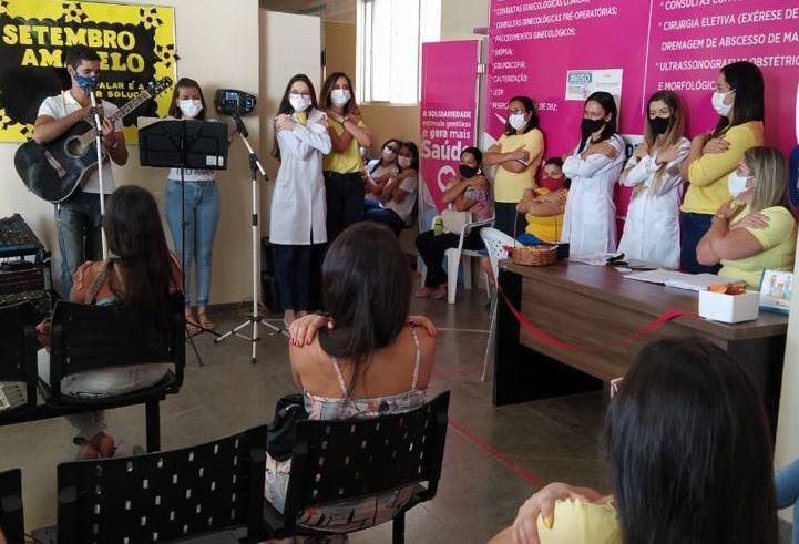 Secretaria da Saúde de Barreiras realiza ações alusivas ao Setembro Amarelo