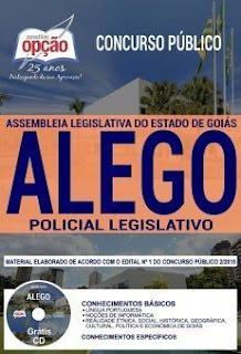 Baixar Apostila ALEGO 2019 PDF - Policial Legislativo