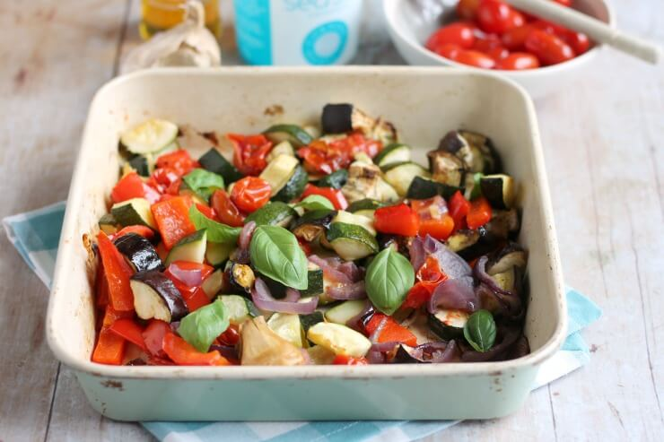 Oven Baked Easy Ratatouille