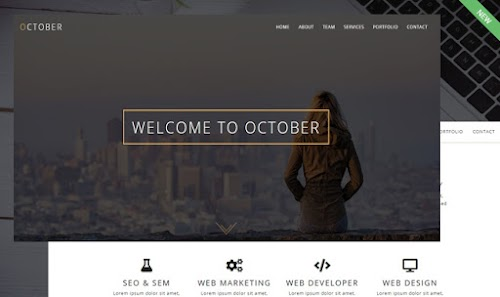 October WordPress