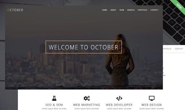 October WordPress