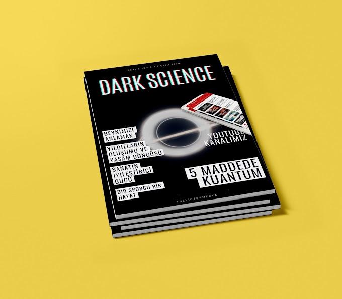 Dark Science Dergisi Ekim Sayısı