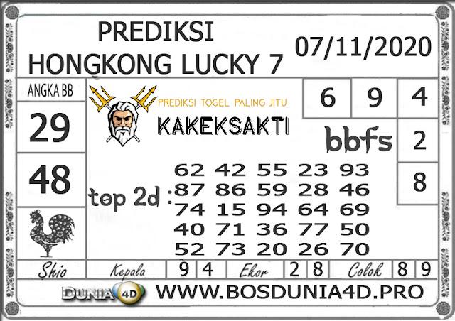 Prediksi Togel HONGKONG LUCKY 7 DUNIA4D 07 NOVEMBER 2020