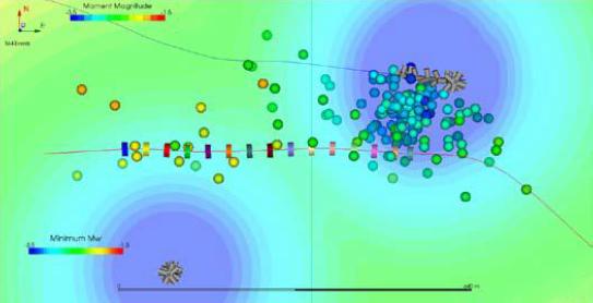 monitoreo microsísmico formacion bakken