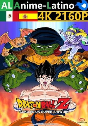 Dragon Ball Z - Goku es un Super Saiyajin [1991] [4K ULTRA HD] [2160P] [Latino] [Castellano] [Inglés] [Japonés] [Mediafire]