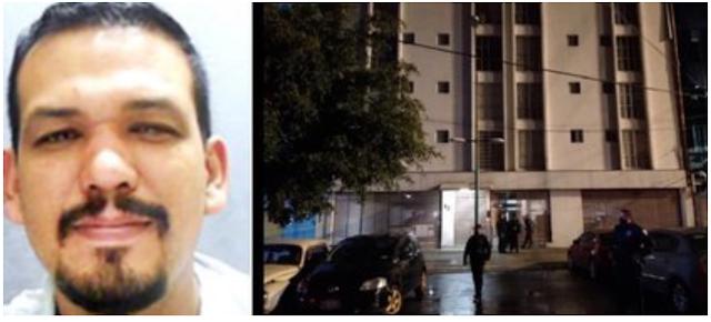 Ya salio el peine, a El Negro lo ejecutaron en un edificio de la SEIDO, era capo del Cártel de Sinaloa y testigo protegido, a su escolta se le encasquillo la pistola y no le hicieron nada