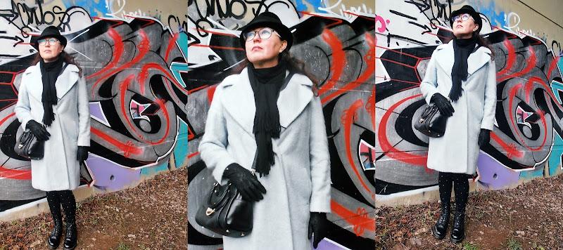 M&S, kapelusz Zara, Dr Martens