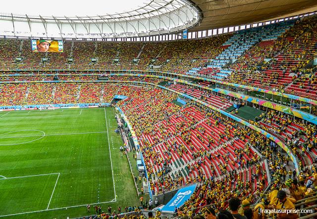 Jogo Brasil x Camarões, Copa do Mundo de 2014, Brasília