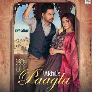 Akhil Paagla Lyrics Status Download Punjabi Song Ve pagla ve paagla enna pyar nai karde WhatsApp video download black background