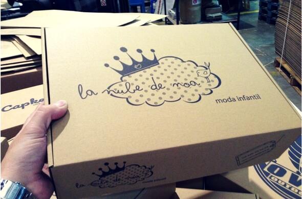 cajas para ecommerce para moda infantil