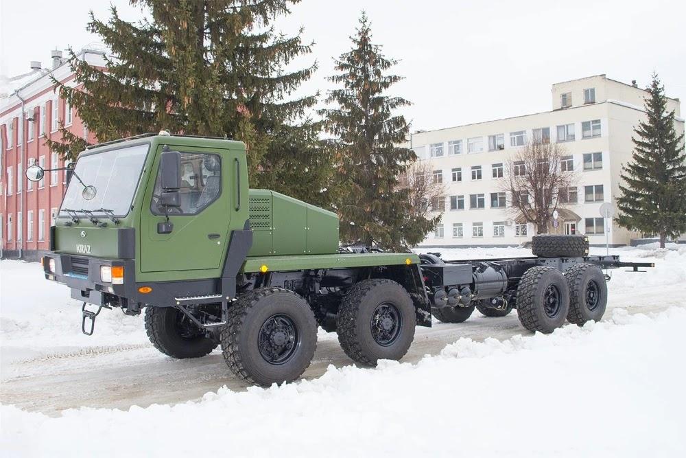 Автомобільне шасі КрАЗ-7634НЕ