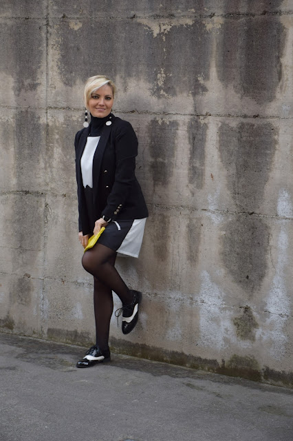 outfit nero come abbinare il nero abbinamenti giacca nera blazer nero outfit invernale mariafelicia magno fashion blogger colorblock by felym fashion blog italiani fashion blogger italiane blogger italiane di moda blog di moda