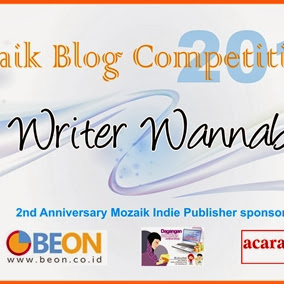 [Mozaik Blog Competition 2014] Writing is My Passion!
