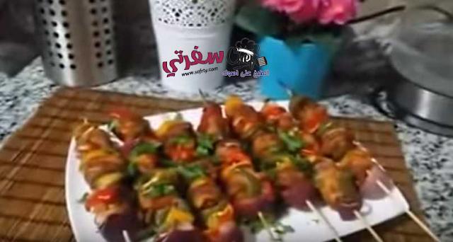 شيش طاووق وسلطة زبادي مروة الشافعي