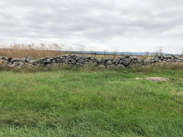 Stone Wall at Gettysburg Battlefields