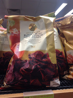 Marks & Spencer Bloody Mary Hand Cooked Red Crisps